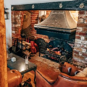 The Potters Arms Fireplace